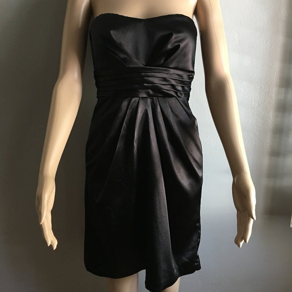 Teeze Me Dresses Black Strapless Short Cocktail Dress Poshmark